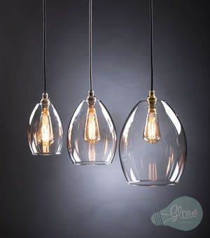 Shop Contemporary Hand Blown Glass Chandelier UK